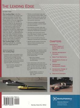 The Leading Edge: Aerodynamic Design of Ultra-streamlined Land Vehicles - back