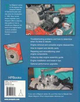 How to Rebuild Your Mopar Magnum V8 - back