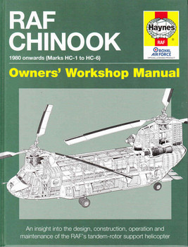 RAF Chinook 1980 Onwards (Marks HC-1 to HC-6) Owners' Workshop Manual - front