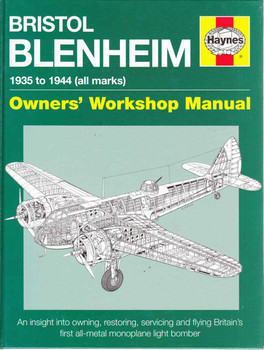 Bristol Blenheim 1935 to 1944 (all marks) Owners' Workshop Manual - front
