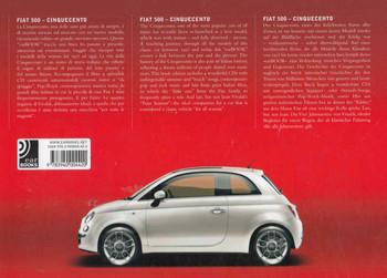 Fiat 500 Cinqecento: Ear Books - back1