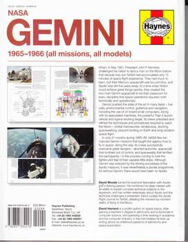 NASA Gemini 1965-1966 (all missions, all models) Owners' Workshop Manual  - back