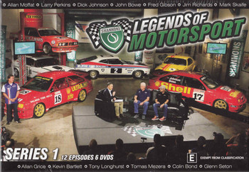 Legends Of Motorsport: Series 1 - 12 Episodes 6 Discs DVD Box Set  - front