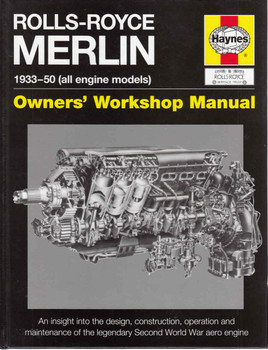Rolls-Royce Merlin 1933-50 (all engine modes) Owners' Workshop Manual - front