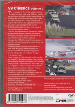 Magic Moments Of Motorsport: V8 Classics Vol.2 DVD  - back