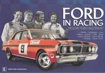 Ford In Racing - The Glory Years Collectors Set 6 DVD Box Set - front