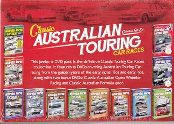 Classic Australian Touring Car Races Collectors 12 DVD Box Set - back