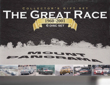 The Great Race 1960 - 2001 6 DVD Collectors Gift Set - front
