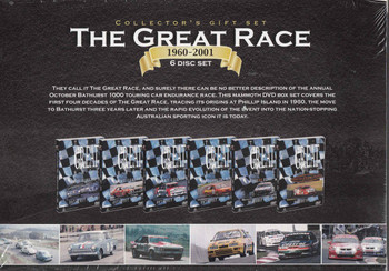 The Great Race 1960 - 2001 6 DVD Collectors Gift Set - back