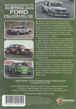The Racing History Of The Australian Ford Falcon XD / XE DVD  - back