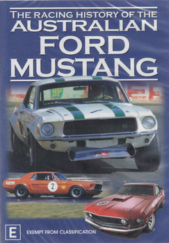 The Racing History of the Australian Ford Mustang DVD - front