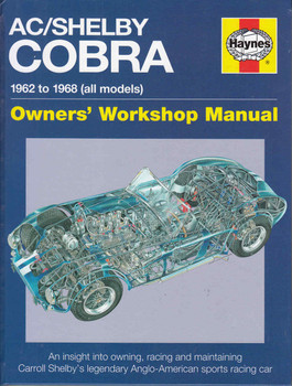 AC/Shelby / Cobra 1962 to 1968 (all models) Owners' Workshop Manual  - front
