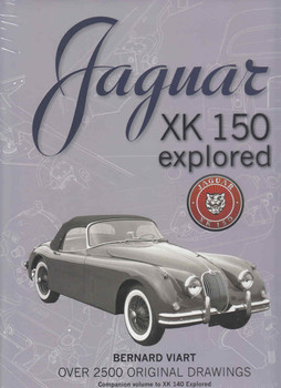 Jaguar XK 150 Explored  - front