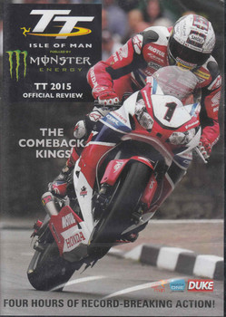 TT Isle Of Man 2015 Official Review DVD - front