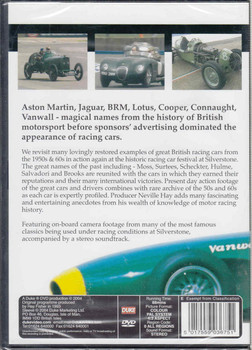 Racing Green DVD - back