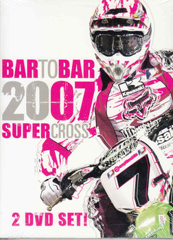 Bar To Bar 2007 Supercross 2-DVD Set - front