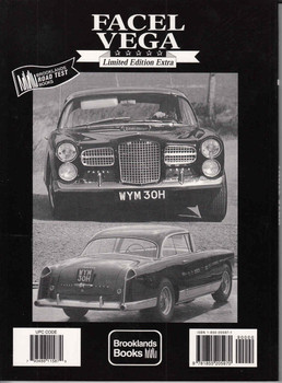 Facel Vega Limited Edition Extra Road Tests - back