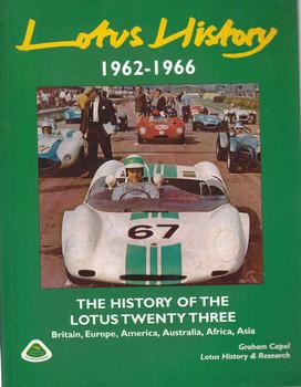 Lotus History: The History Of The Lotus Twenty Three - front