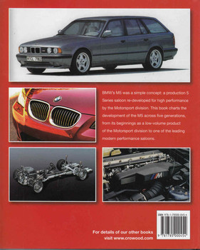BMW M5 The Complete Story - back