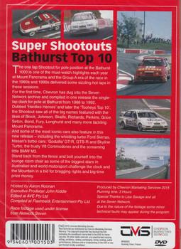 Magic Moments Of Motorsport: Super Shootouts Bathurst Top 10 DVD - back