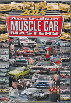 2015 Australian Muscle Car Masters DVD  - front