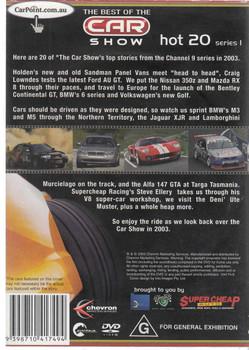 Hot 20 Series 1 DVD (9398710417494) Back