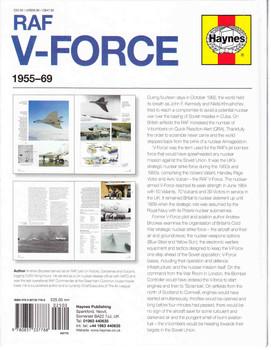 RAF V-Force 1955 - 1969 Operations Manual Back Cover