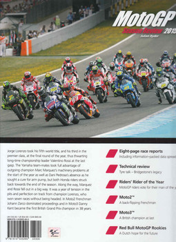 MotoGP Season Review 2015 NUMBER 12 (9781910505090) Back