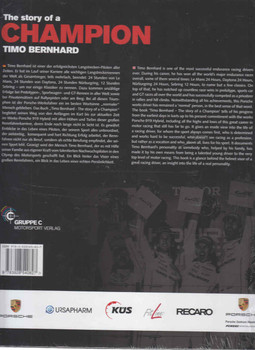 Timo Bernhard - The Story of a Champion Back Cover