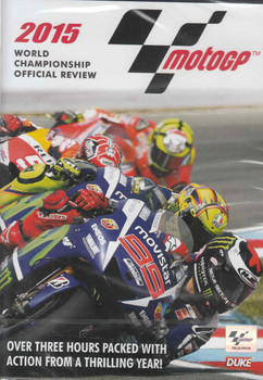 MotoGP 2015 World Championship Official Review DVD - front