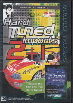 Hard Tuned Imports 2 +1 Special Edition DVD