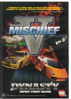 Teckademics Mischief V (5) - Dynasty Import Street Racing DVD