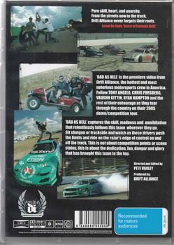 Bad As Hell Drift Alliance DVD (9330080005055)