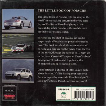The Little Book Of Porsche - back