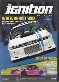 Ignition White Knight WRX Edition 007 DVD (9319505820183)