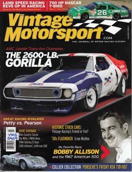 Vintage Motorsport Magazine Jul/Aug 2009 - The Journal of Motor Racing History