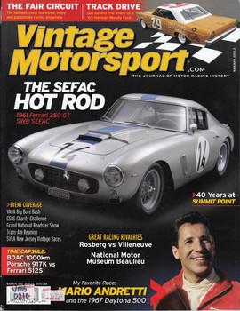 Vintage Motorsport Magazine Mar/Apr 2010 - The Journal of Motor Racing History