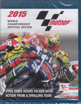 MotoGP 2015 World Championship Review Bluray - front