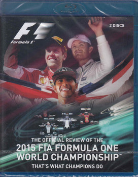 Formula One 2015 The Official Review Of the FIA World Championship That's What Champions Do - front