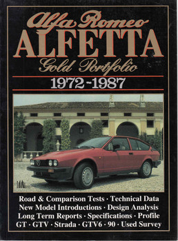 Alfa Romeo Alfetta Gold Portfolio 1972-1987