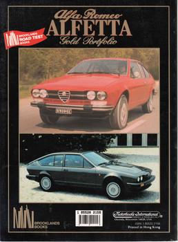 Alfa Romeo Alfetta Gold Portfolio 1972-1987 Back