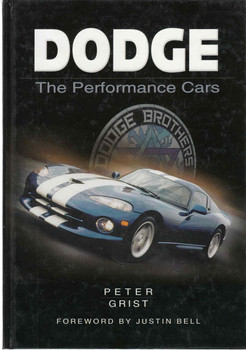 Dodge: The Performance Cars (9780750923415) - front