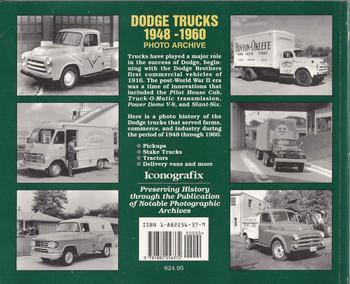 Dodge Trucks 1948-1960 Photo Archive Back