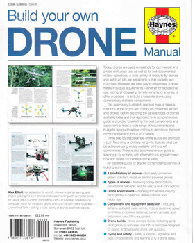 Build Your Own Drone Manual (9780857338136) - back
