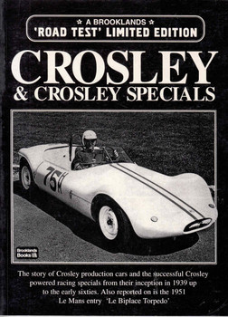 Crosley & Crosley Specials Road Test Limited Edition (9781855204386) - front