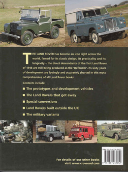 Land Rover 60 Years of the 4 x 4 Workhorse (9781861269652) - back
