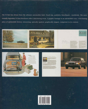 Mercedes-Benz S-Class: The brochures since 1952 (9783768817202) - back