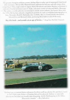 Stirling Moss Racing With The Maestro (Karl Ludvigsen) (9781859608166) - back