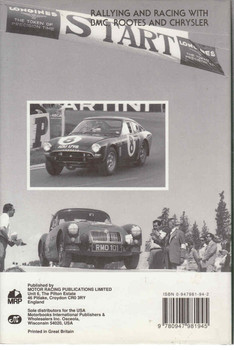 Works Wonders Rallying and Racing with BMC, Rootes and Chrysler (New Edition) (9780947981945) - back