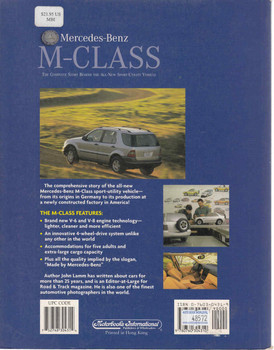 Mercedes-Benz M-Class: The Complete Story Behind The All-New Sport-Utility Vehicle (9780760304310 - back